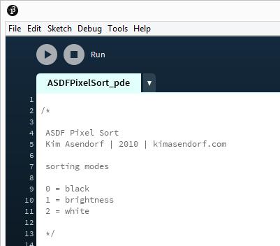 pixel-sort-run